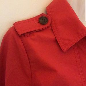 GAP Jackets & Coats - Gap red trench coat